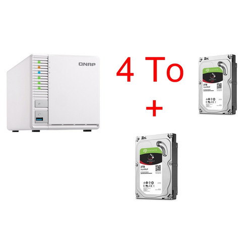 QNAP TS-328 + 2 x Seagate IronWolf 2 To