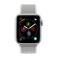 Apple Watch Series�4 Cellular - 40mm - Alu Argent - Boucle Sport Coquillage