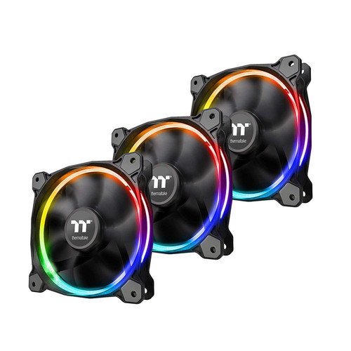 Pack de 3 ventilateurs Thermaltake Riing 12 RGB Sync Edition, 120 mm (RGB)