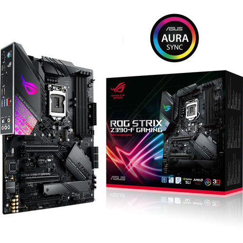 Asus ROG STRIX Z390-F GAMING + Call of Duty: Black Ops 4 Offert !