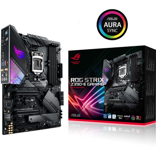 Asus ROG STRIX Z390-E GAMING + Call of Duty: Black Ops 4 Offert !