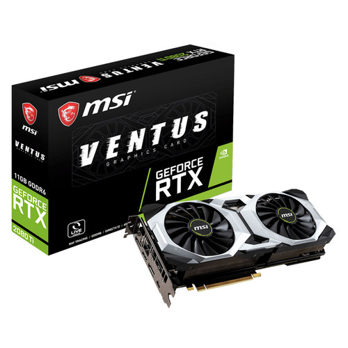 MSI GeForce RTX 2080 Ti VENTUS 11G, 11 Go