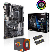 Kit d'�vo AMD Ryzen 5 2600 + Asus PRIME B450 PLUS + 16 Go