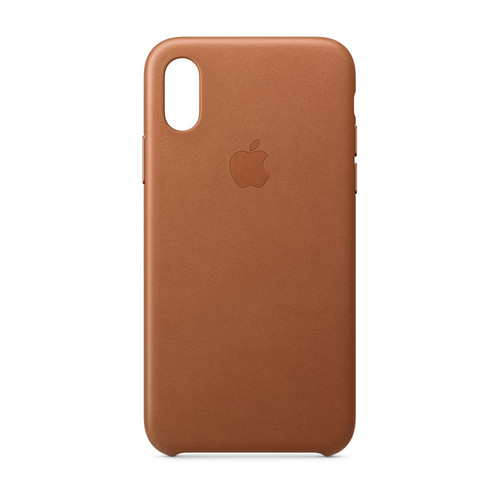 Apple iPhone Xs Leather Case - Havane