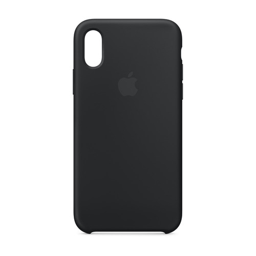 Apple iPhone Xs Silicone Case - Noir