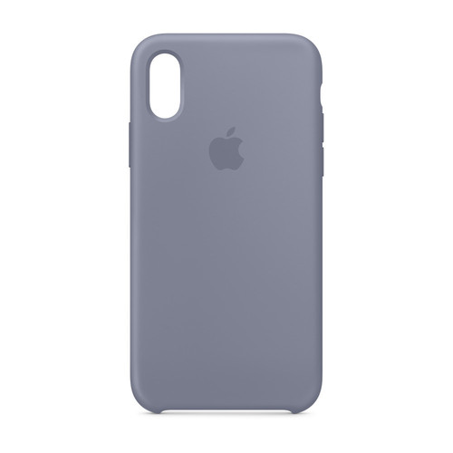 Apple iPhone Xs Max Silicone Case - Gris Lavande
