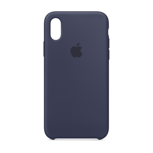 Apple iPhone Xs Max Silicone Case - Bleu nuit