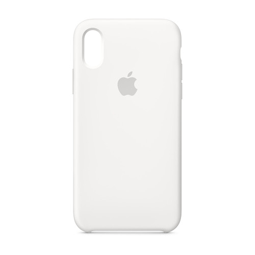 Apple iPhone Xs Max Silicone Case - Blanc