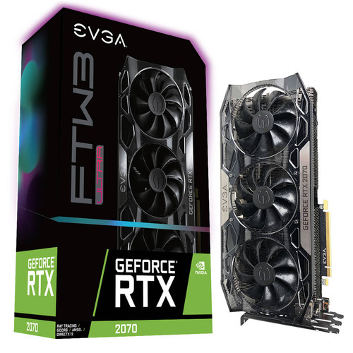 EVGA GeForce RTX 2070 FTW3 ULTRA GAMING, 8 Go + jeu offert !