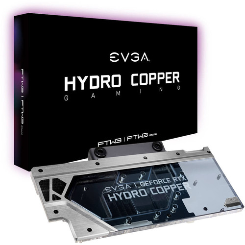 Waterblock Hydro Copper pour EVGA GeForce RTX 2080 Ti FTW3
