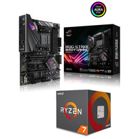 AMD Ryzen 7 2700X (3.7 GHz) + Asus ROG STRIX B450-F GAMING