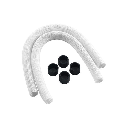 Gaines CableMod Series 1 pour watercooling Corsair Hydro Gen 2, Blanc