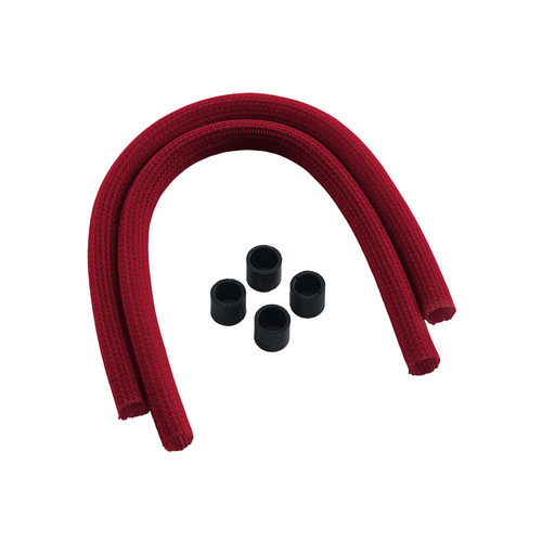 Gaines CableMod Series 2 pour watercooling EVGA / NZXT / Corsair PRO, Rouge