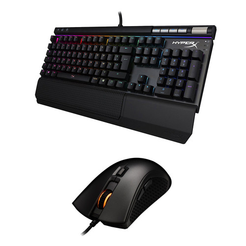 Pack HyperX Alloy Elite RGB (MX Red)(AZERTY) + Pulsefire FPS Pro RGB