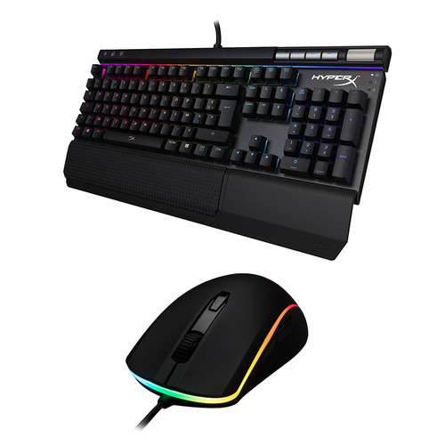 HyperX Alloy Elite RGB (MX Red)(AZERTY) + Pulsefire Surge RGB