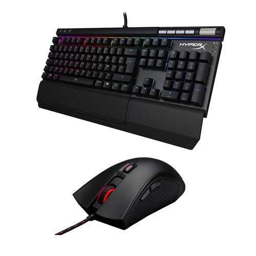 Pack HyperX Alloy Elite RGB (MX Red)(AZERTY) + Pulsefire FPS