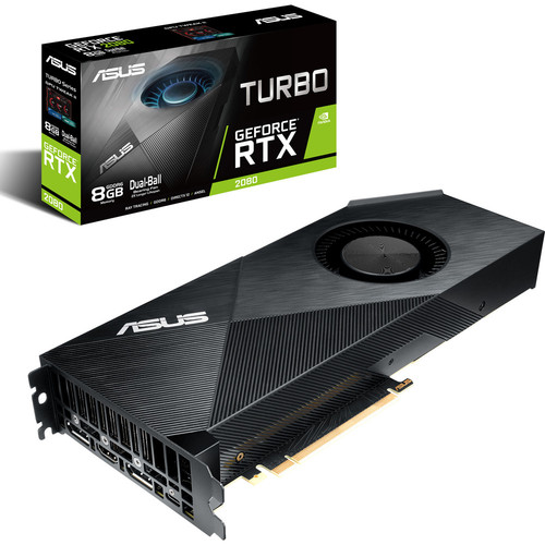 Asus GeForce RTX 2080 Turbo, 8 Go