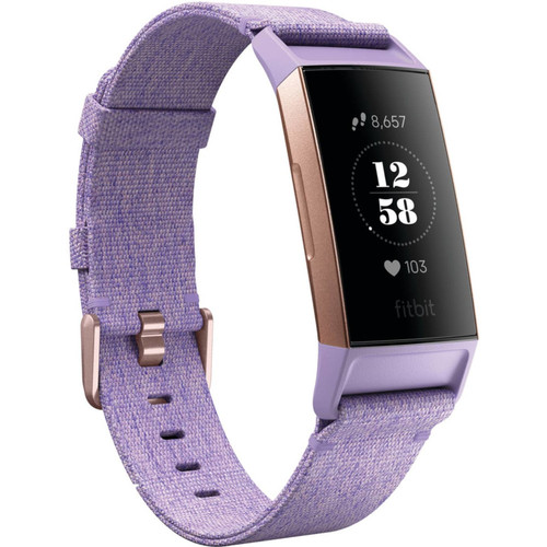 Fitbit - Charge 3 - Edition Spéciale Or Rose / Lavande