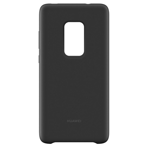 Huawei Coque Silicone Mate 20 Pro - Noir