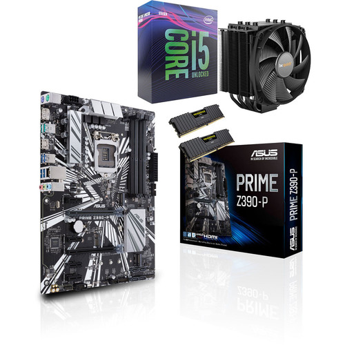 Kit d'évo Core i5-9600K + Asus PRIME Z390-P + Dark Rock 4 + 16 Go