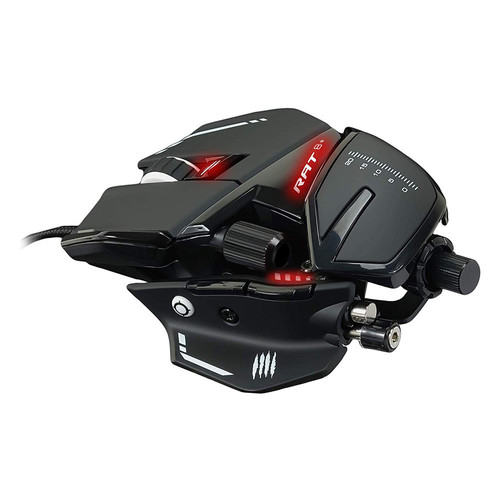 Mad Catz Rat 8+, Noir