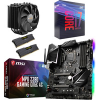 Kit �vo Intel Core i7-9700K + MSI MPG Z390 GAMING EDGE AC + Dark Rock 4 + 16 Go