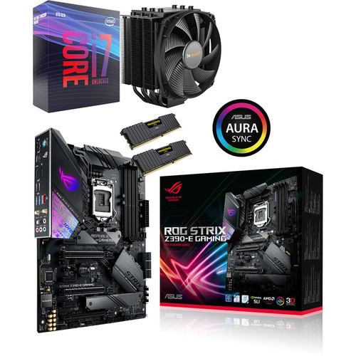 Kit évo Intel Core i7-9700K + Asus ROG STRIX Z390-E GAMING + Dark Rock 4 + 16 Go + Call of Duty: Black Ops 4 Offert !