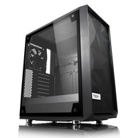 Fractal Design Meshify C Tempered Glass Clear - Noir