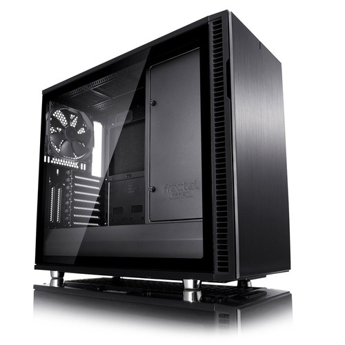 Fractal Design Define R6 USB-C Blackout TG, Noir