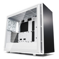 Fractal Design Define S2 Tempered Glass Clear, Blanc
