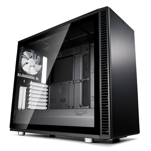 Fractal Design Define S2 Tempered Glass Light, Noir