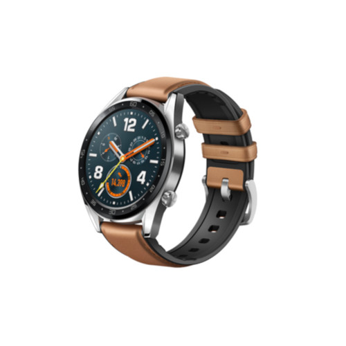 Huawei Watch GT - Cuir Marron