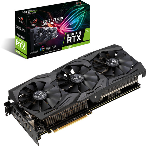 Asus GeForce RTX 2060 ROG STRIX A6G GAMING, 6 Go + Jeu offert !