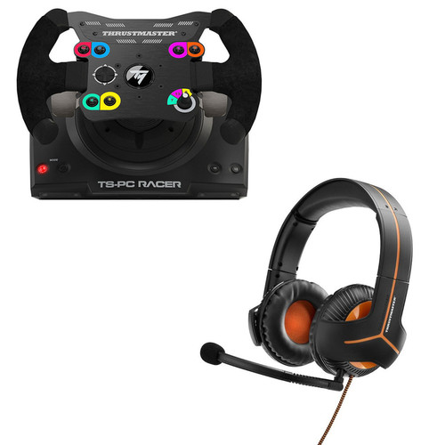 Thrustmaster TS-PC Racer + Casque Y-350CPX 7.1