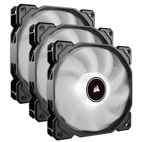 Corsair AF120 LED (2018) - 120 mm (LED Blanches - Pack de 3)
