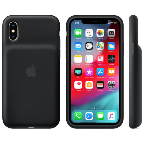 Apple - Smart Battery Case pour iPhone Xs - Noir