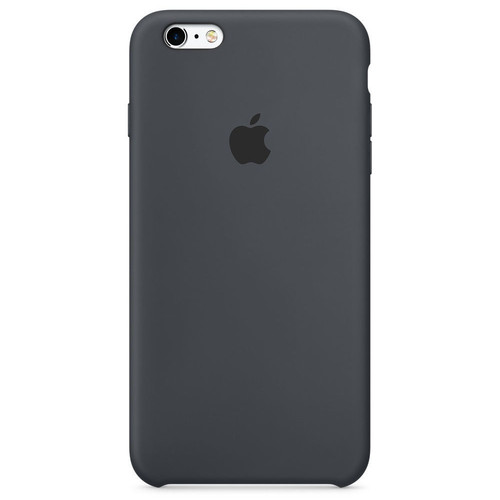Apple - iPhone 6 Plus/6s Plus Silicone Case - Gris anthracite