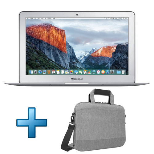 Apple MacBook Air 13'' 128 Go Argent (2017) + Sacoche Targus CityLite