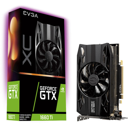 EVGA GeForce GTX 1660 Ti XC GAMING, 6 Go