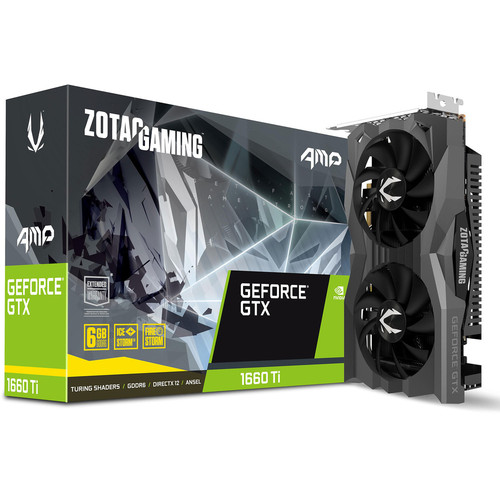 Zotac Gaming GeForce GTX 1660 Ti AMP Edition, 6 Go + bundle Fortnite offert !