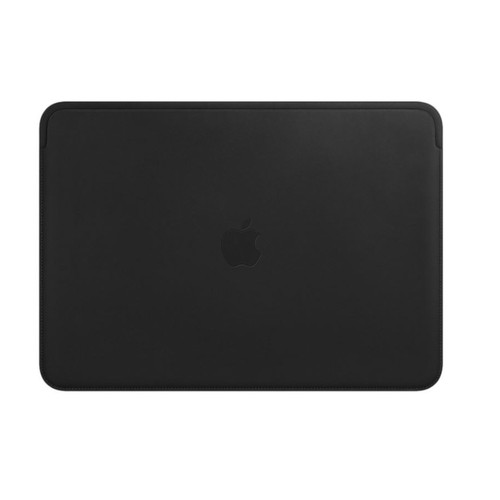 "Apple Housse en cuir - Macbook air / pro - 13"" - Noir"