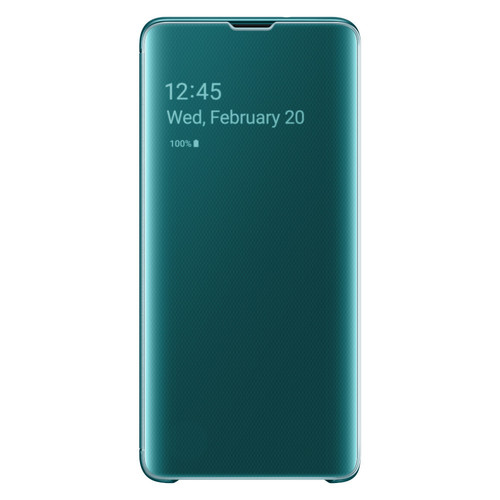 Samsung Clear View Cover Galaxy S10 Plus - Vert