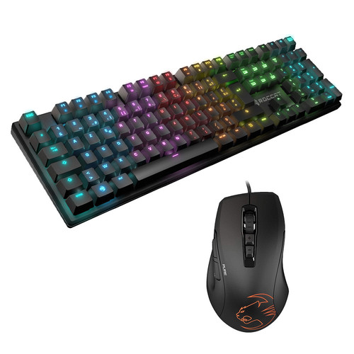 Pack Roccat Suora FX (TTC Brown)(AZERTY)+ Kone Pure SEL -