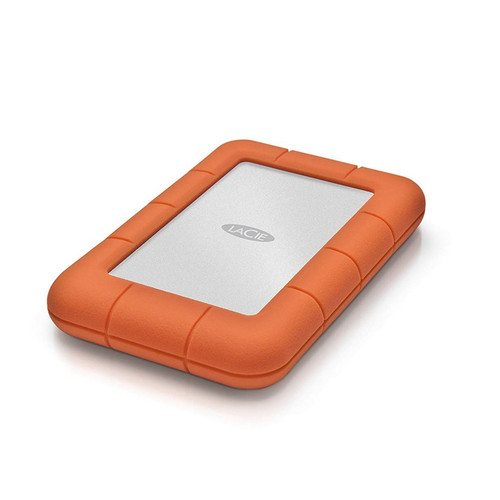 LaCie Rugged Mini 4 To - Orange