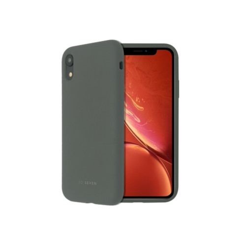 SoSeven Coque Smoothie Silicone iPhone XR - Gris