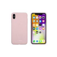 SoSeven Coque Smoothie Silicone iPhone XS Max - Rose Poudr�