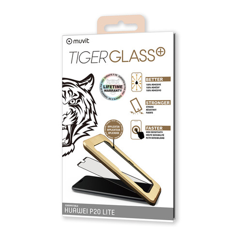 Muvit Tiger Glass Plus - Verre trempé P20 Lite 2018