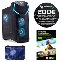 Vente flash exceptionnelle sur Acer Predator 5000 (E0SEF.023) + Tapis de Souris Acer Predator Alien Jungle
