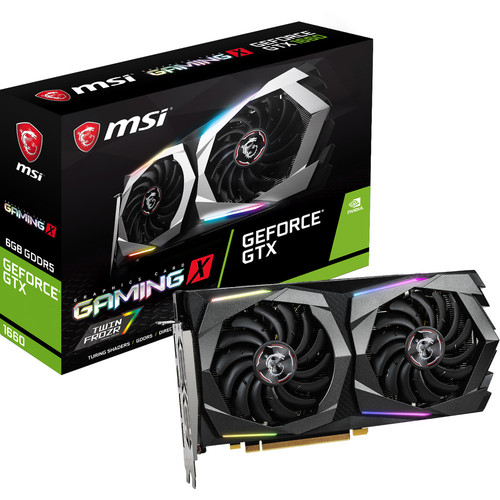 MSI GeForce GTX 1660 GAMING X, 6 Go