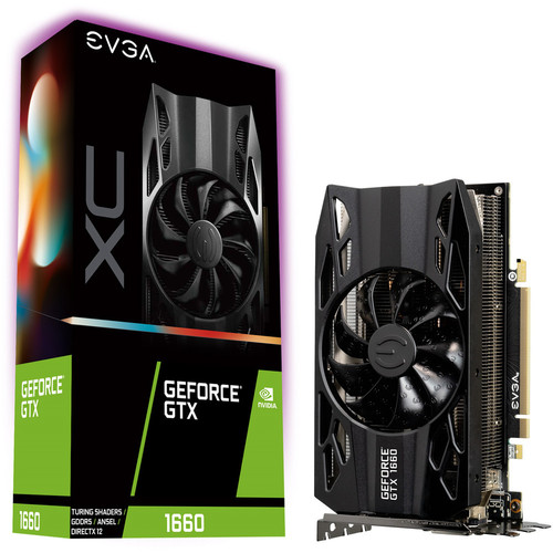 EVGA GeForce GTX 1660 XC GAMING, 6 Go